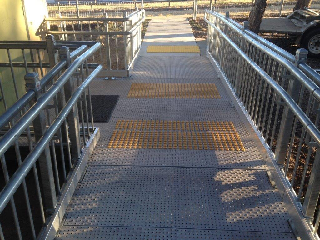 Customised ramp solutions with our Nexus Modular Custom range