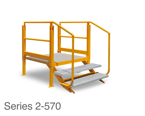 ARASolutions Australian Ramp and Access Solutions Nexus Flat-Pack Adjustable Landing with Tread Series 2-570 ramp accessibility solutions disabled access