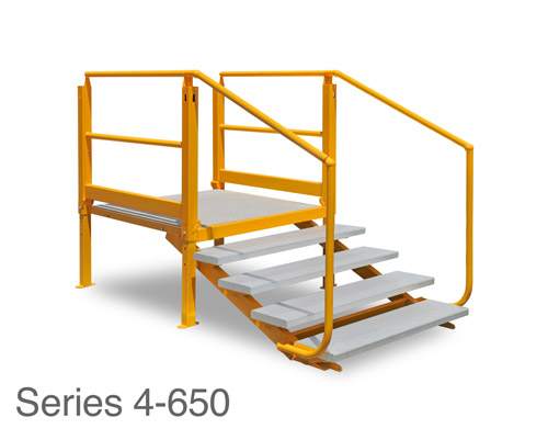 ARASolutions Australian Ramp and Access Solutions Nexus Flat-Pack Adjustable Landing with Tread Series 4-650 ramp accessibility solutions disabled access