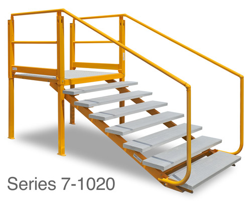 ARASolutions Australian Ramp and Access Solutions Nexus Flat-Pack Adjustable Landing with Tread Series 7-1020 ramp accessibility solutions disabled access