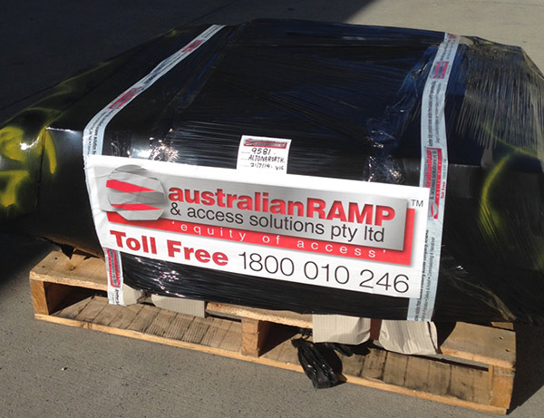 ARASolutions Australian Ramp and Access Solutions accessibility package ready to ship