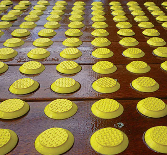 ARASolutions Australian Ramp and Access Solutions ramp floor finishes large tactile safety grips