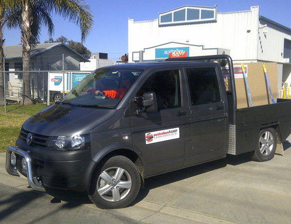 ARASolutions Australian Ramp and Access Solutions package transportation and logistics vehicle delivery