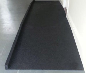 Custom Rubber Ramp by - Australian Ramp and Access Solutions