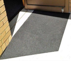 Custom Rubber Threshold Ramp by Australian Ramp and Access Solutions