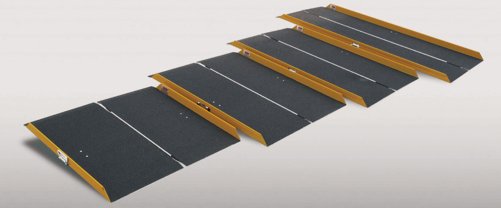Portable Folding Mini Ramp kits by ARAS