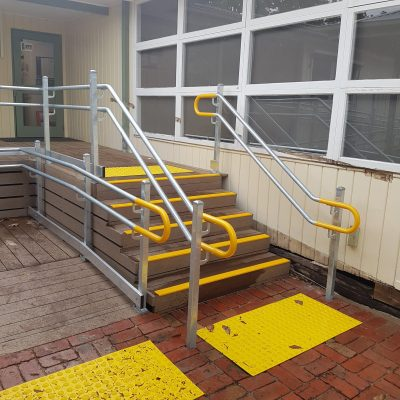 ARAS permanent ramp installation