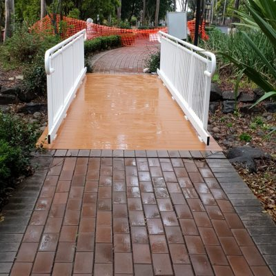 Custom Foot bridge