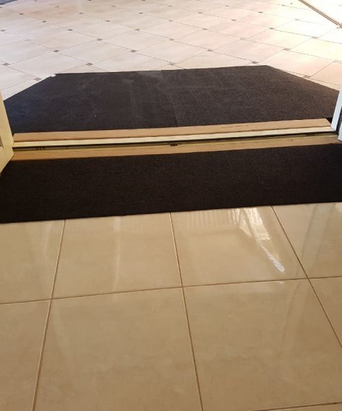 Rubber Ramps - Custom doorway entry access - ARAS