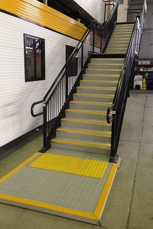 ARASolutions Australian Ramp and Access Solutions Nexus Custom ramp accessibility solutions for industrial and commercial staircases