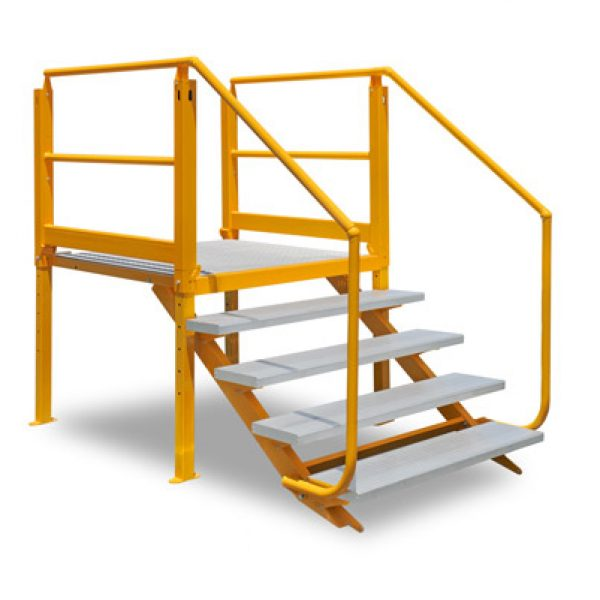 ARASolutions Australian Ramp and Access Solutions Nexus Flat-Pack Adjustable Landing with Tread Series 4-950 ramp accessibility solutions disabled access