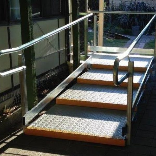 platform steps; June 2015